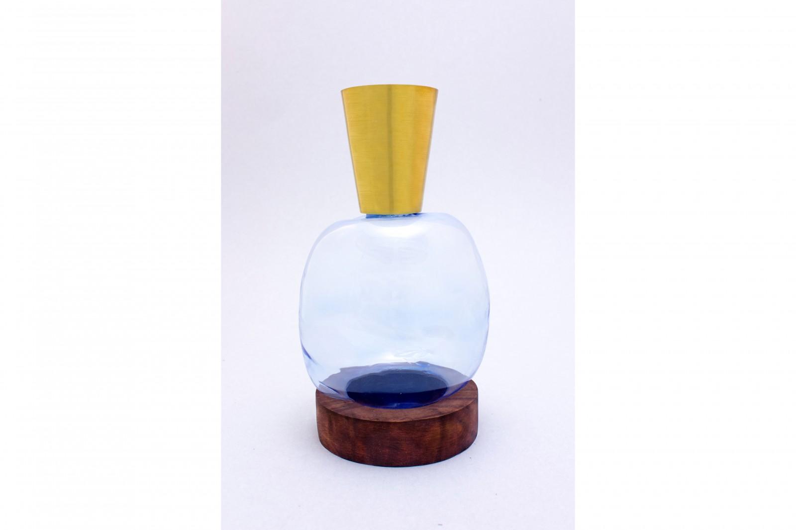 BLOW vase blue