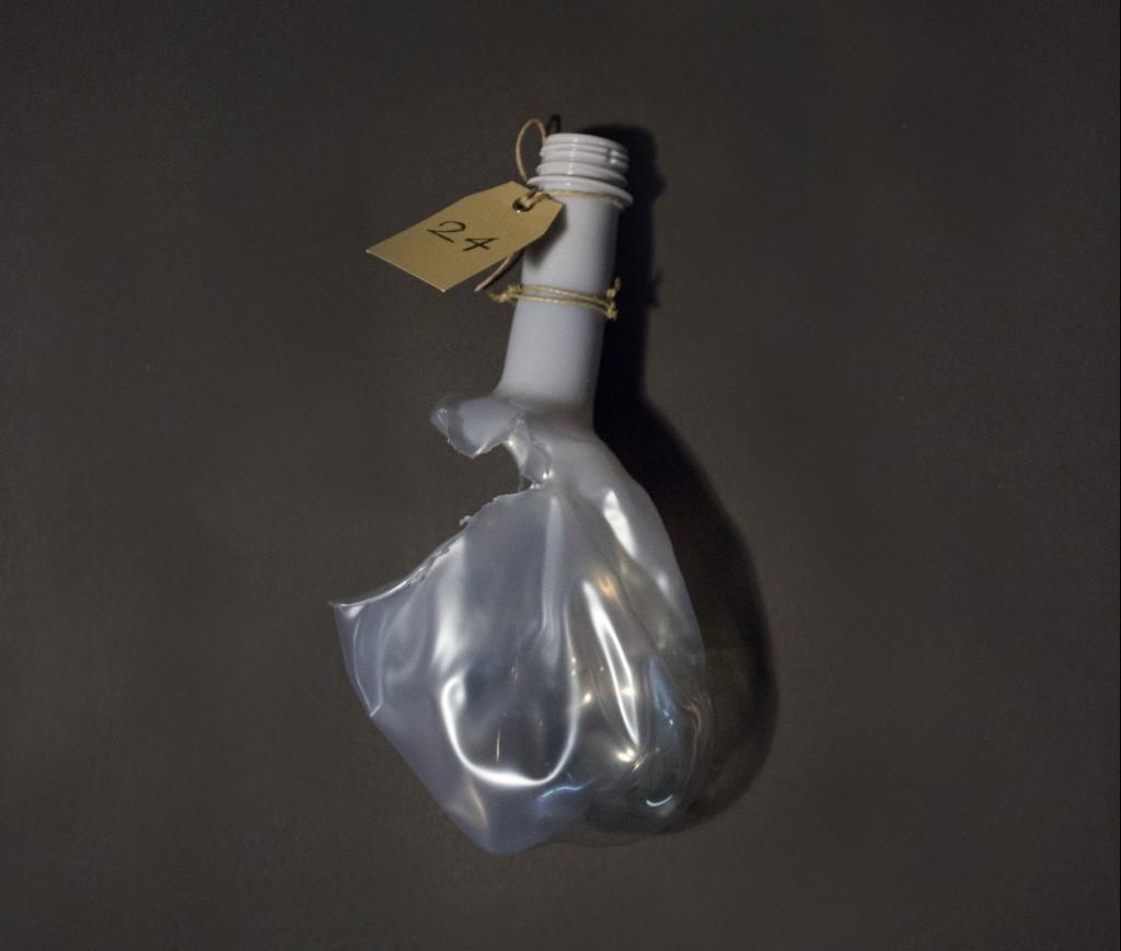 Plastic waste PET bottle